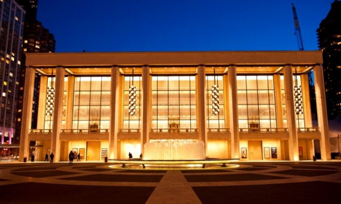 New York's Lincoln Center (Dai Bing/The Epoch Times)