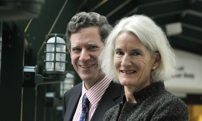 Philanthropists Jamie and Patsy Anderson will receive the 2012 Award for Outstanding Volunteer Fundraiser presented by the Association of Fundraising Professionals in Vancouver on March 31, 2012. (J.P. Moczulski)
