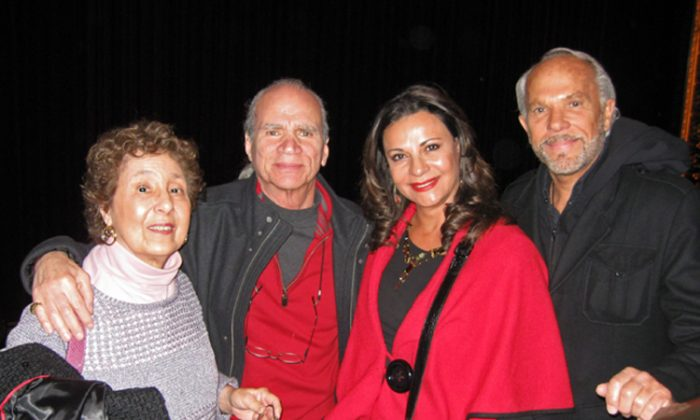 Left to right: Joyce and Charles Brandt, Galia and Milton Movitz (Kerry Huang/The Epoch Times)