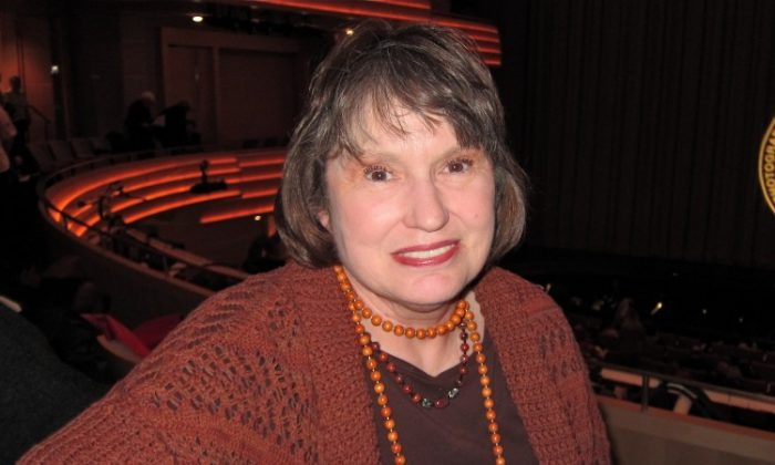 Kathryn Brown attends Shen Yun Performing Arts in Madison. (Valerie Avore/The Epoch Times)