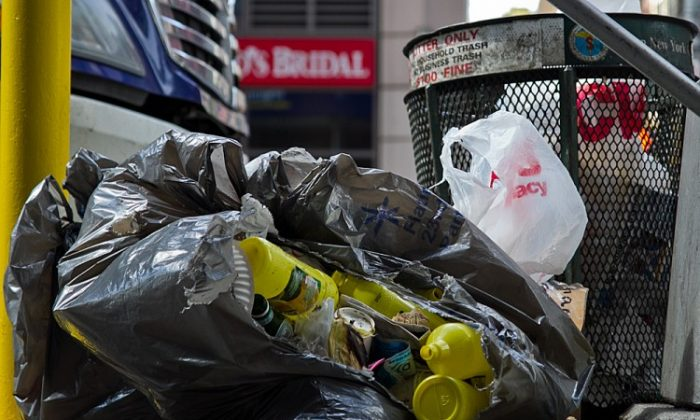 To ship waste to landfills and other treatment facilities out of state, the city spends $300 million annually. It is looking for ways to make waste productive and pay for its own disposal in some portion—such as converting it to energy. (Courtesty of the Department of Sanitation)