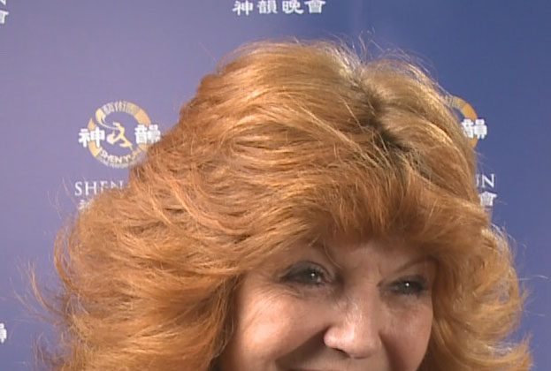"Rula Lenska, British star of television, stage, and screen, said ""Shen Yun was absolutely wonderful, absolutely wonderful."""