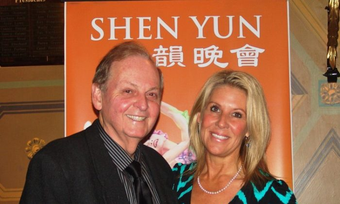 Roger Blackwell and Linda Blackwell attend Shen Yun Performing Arts at the Ohio Theatre. (CharlieLu/The Epoch Times)