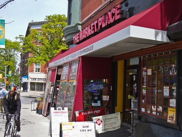 The Marketplace, owned by immigrant entrepreneur Sammy Herbawi, in Brooklyn.