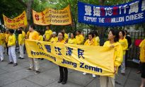 For Falun Gong, Peaceful Protests Persist