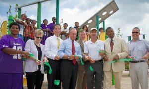 Vandalism Can't Stop Rockaway Park Opening