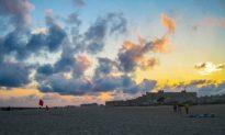 New York Beaches Close as Schools Open