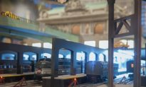 Holiday Train Exhibit Opens at New York's Grand Central