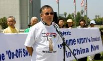 Rally Demands U.S. Support Independent Broadcasts to China