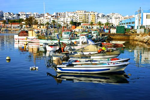 Fishing boats in Lagos. (Shutterstock)