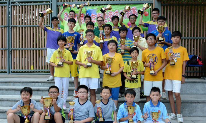 Sixty six youngsters participated in the 4th Age Group Lawn Bowls Competition last Sunday, July 19, 2015 at the Hang Hau Man Kuk Lane Park, Tseung Kwan O. (Stephanie Worth)
