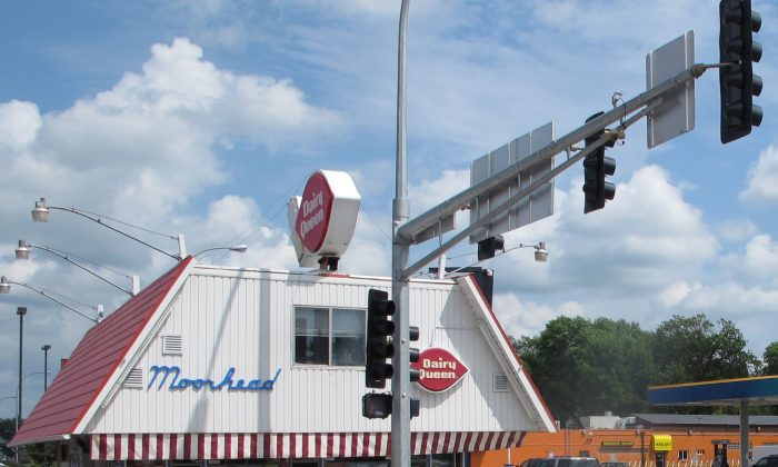 The Dairy Queen restaurant in downtown Moorhead, Minn., on July 13, 2013. The store first opened in 1949. (AP Photo/Dave Kolpack)