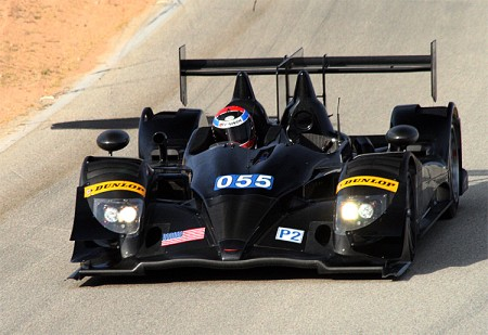 The #055 Level 5 HPD ARX-03a and its sister car #95 were the quickest P2s. (James Fish/The Epoch Times)