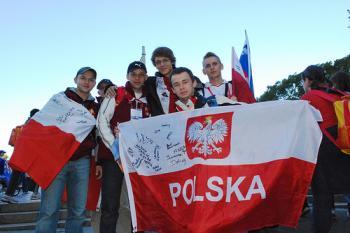 Polish Pilgrims.  (Sonya Bryskine/The Epoch Times)