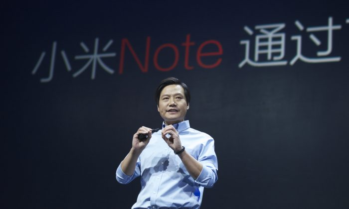 Lei Jun, chairman and CEO of China's Xiaomi Inc.,  in Beijing on Jan. 15, 2015. (ChinaFotoPress/Getty Images)