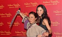Michelle Yeoh Unveils Her Kung Fu Wax Figure in Hong Kong