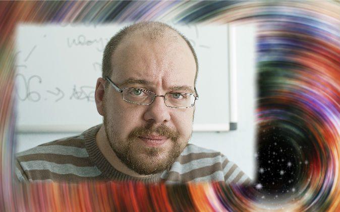 A file photo of a man looking doubtful. (Olesya Tseytlin/iStock) Background: (Hypotekyfidler/iStock)