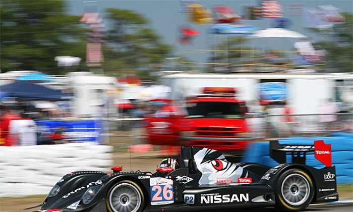 Signatech will be back to defend its P2 title with its Nissan-Powered Oreca. (James Fish/The Epoch Times)