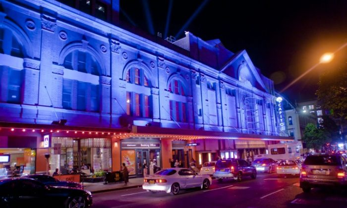 Sydney's Capitol Theatre. (Renee Luo/The Epoch Times)
