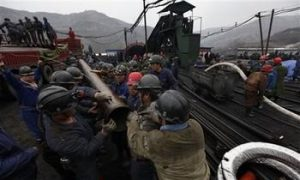 Coal Mine Flood Traps 153 Miners in Shanxi Province