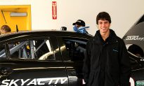 Tristan Nunez Driving for Mazda in Rolex 24