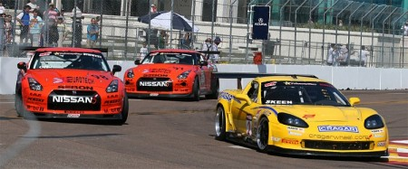 Pirrelli World Challenge features some of the best-known brands in close, multi-class racing. (James Fish/The Epoch Times)