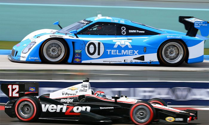 Scott Pruett and Memo Rojas will be seeking their first Grand Am win of the season at Belle Isle; Will Power will be looking for his fourth IndyCar win. (James Fish/The Epoch Times)