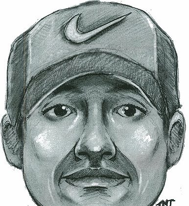 A police sketch of a man suspected of attempted rape in Riverside Park. (Courtesty of NYPD)