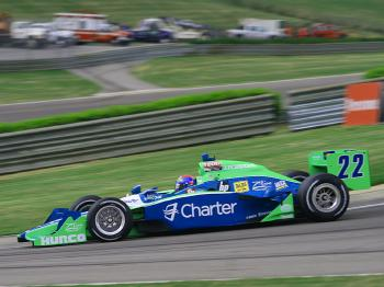 Justin Wilson was fourth-quickest. (James Fish/The Epoch Times)