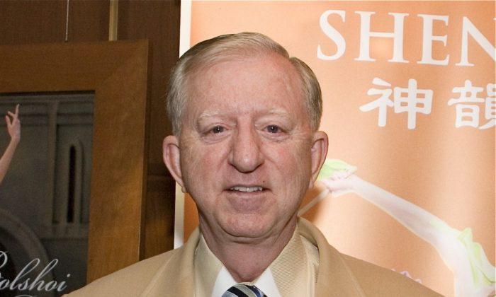 Retired U.S. Army General John G. Coburn attends Shen Yun Performing Arts in Washington. (Lisa Fan/The Epoch Times)
