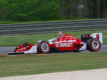 Scott Dixon was fastest in morning practice. (James Fish/The Epoch Times)