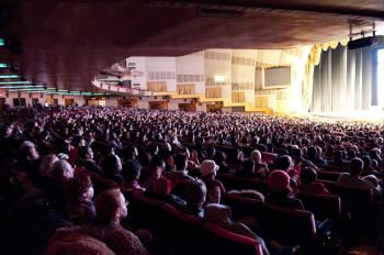 The audience at the Shen Yun Performing Arts show at Radio City Music Hall on Feb. 13. (Dai Bing/The Epoch Times)