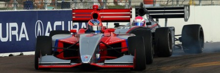 Indy Lights are a bit less powerful but every bit as exciting as their bigger IndyCar brethren. (James Fish/The Epoch Times)