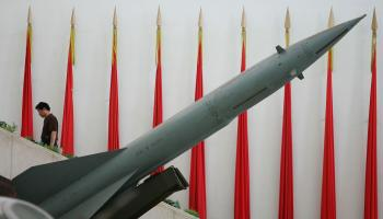 China has over 1,500 missiles aimed at Taiwan.  (Guang Niu/Getty Images )