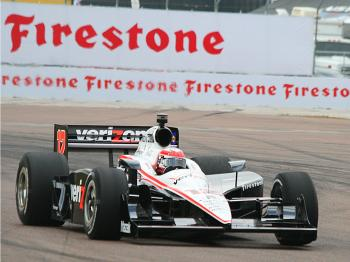 Will Power will start on the pole for the 2011 IndyCar Honda Grand Prix of St. Petersburg. (James Fish/The Epoch Times)