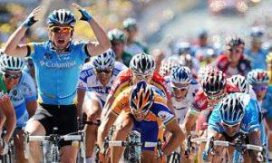 Cavendish Wins the Sprint in Tour de France Stage Five