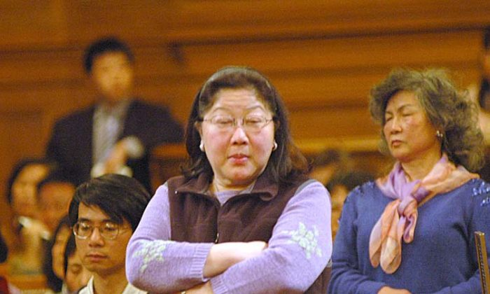 Chinese Consul General Gao Zhansheng, not a frequent visitor to City Hall, made an appearance for the swearing in Ed Lee, who is the hand-picked mayor of his friend, Rose Pak. (Luke Thomas/Fog City Journal)