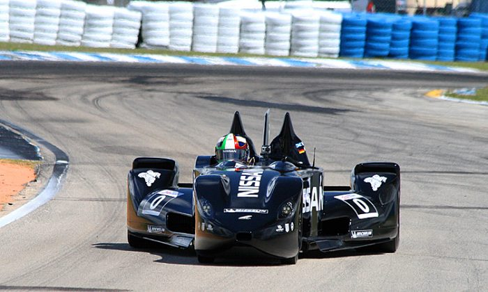 The DeltaWing did well in its week of testing at the notoriously bumpy Sebring Raceway. Now it is off to Europe to prepare for Le Mans. (James Fish/The Epoch Times)
