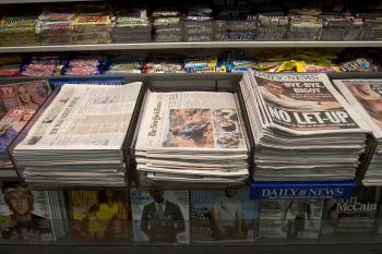 The New York Times Co. has said it will close the Boston Globe unless the union agrees to large concessions. (Michael Brown/Getty Images)