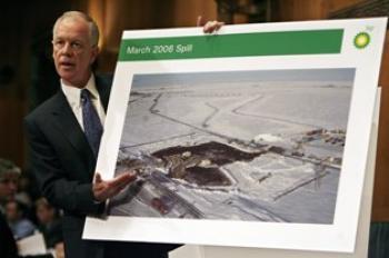 Senate Holds Hearing On BP Alaska Pipeline Failure. (Chip Somodevilla/Getty Images)
