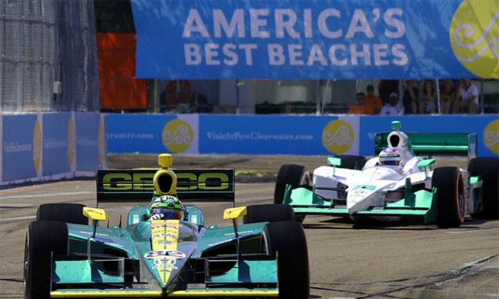 Dario Franchitti will want to start another championship-winning season with a victory at St. Pete. (James Fish/The Epoch Times)