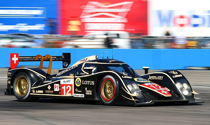 Audi brought its 2011-spec R18s to Sebring. Audi will have four cars at Spa, two R18 Ultra diesels and two R18 Ultra Hybrids—all making their competition debuts. (James Fish/The Epoch Times)