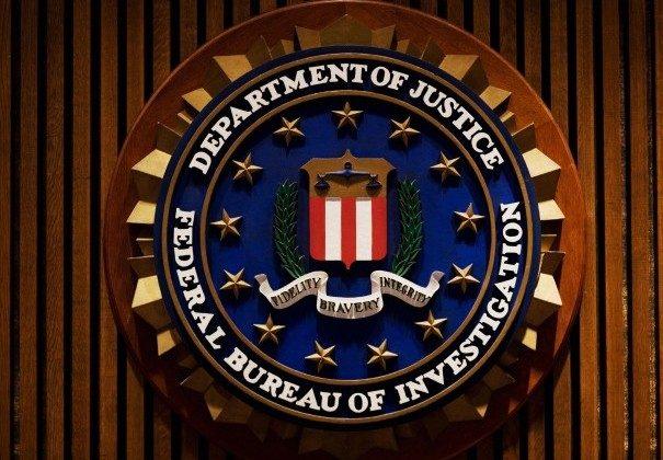 A crest of the Federal Bureau of Investigation inside the J. Edgar Hoover FBI Building in Washington. (MANDEL NGAN/AFP/Getty Images)