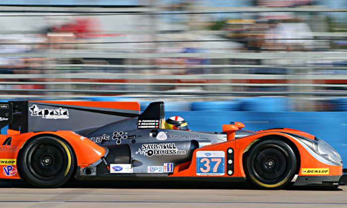 Conquest Endurance is bringing its Morgan-Nissan to Long Beach seeking its first 2012 ALMS P2 victory. (James Fish/The Epoch Times)