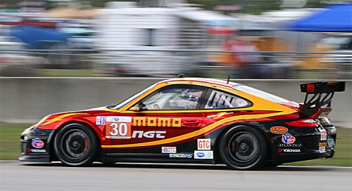 Sean Edwards drove the fastest GTC race lap at Sebring in 2011 and will start from the GTC pole this year. (James Fish/The Epoch Times)