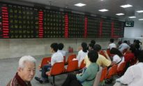 China Stock Market Dives on Olympics Opening