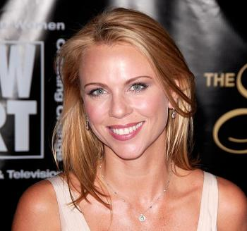Lara Logan, CBS chief foreign affairs correspondent, arrives at the 33rd annual American Women in Radio and Television's Gracie Allen Awards at the Marriott Marquis on May 28, 2008 in New York City. Logan left hospital for home on Feb. 15 after she was attacked in Egypt by a mob. (Joe Corrigan/Getty Images)