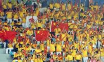 Zealous Chinese Fans Given Workshops on Cheering