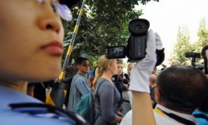 Foreigners Get Ten Days in Beijing Prison for Covering Pro-Tibet Protest