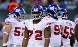 Giants Face D-Line Problems